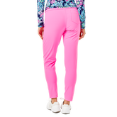 Alternate View 1 of Corso Luxetic Solid Pull-On Golf Pant