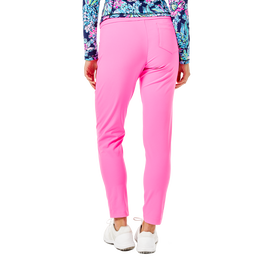 Corso Luxetic Solid Pull-On Golf Pant