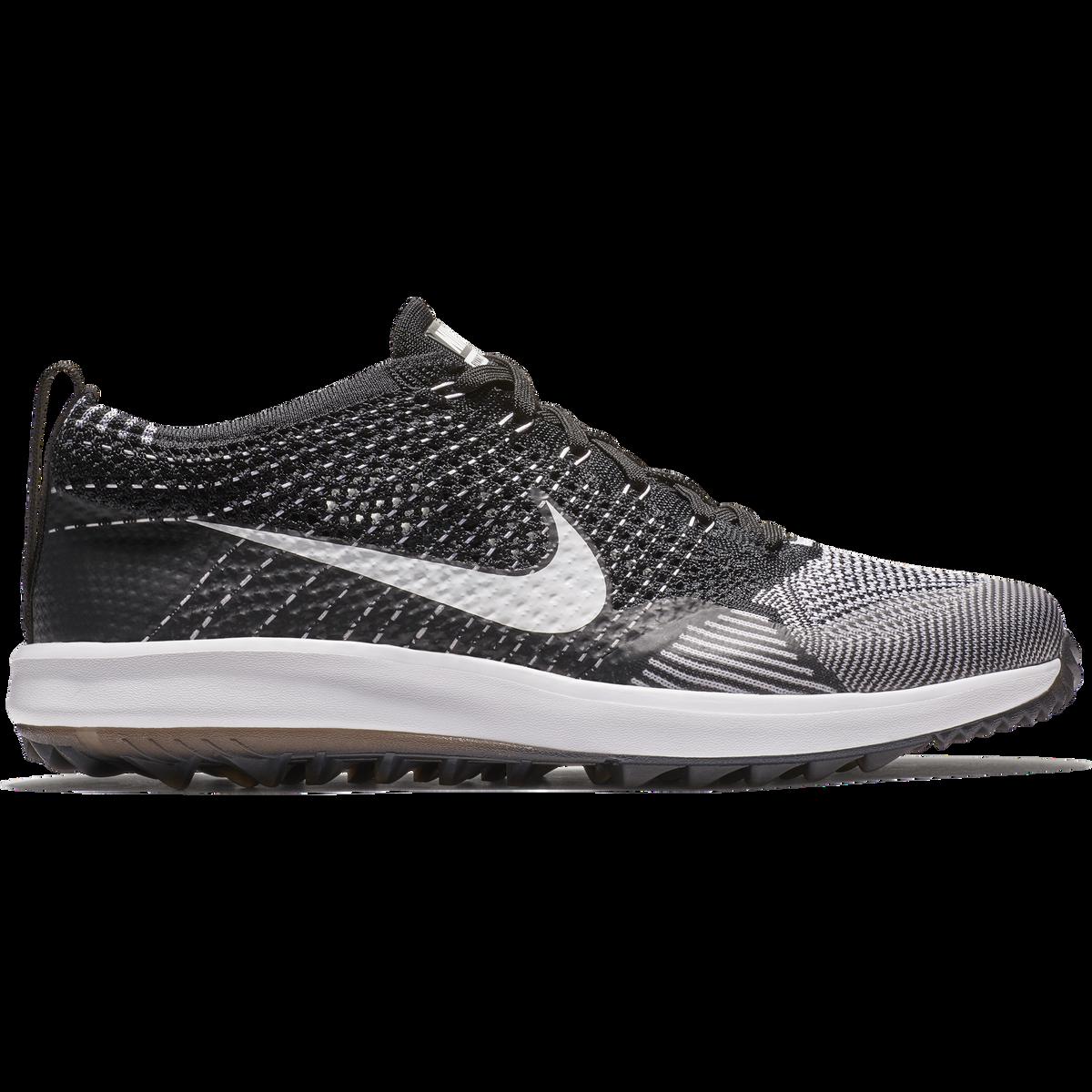 95116cb86cb1 Images. Nike Flyknit Racer G Men  39 s Golf Shoe - Black White