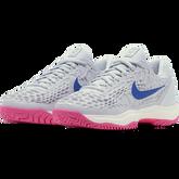 Alternate View 5 of Zoom Cage 3 Women's Tennis Shoe - Grey/Pink