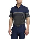 Alternate View 3 of Ultimate365 Gradient Block Stripe Polo Shirt