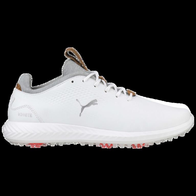 PUMA IGNITE PWRADAPT Junior Golf Shoe - White