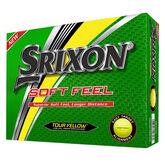 Soft Feel Yellow Golf Balls - Personalized