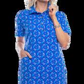 Alternate View 1 of Austin Short Sleeve Doilies Print Dress