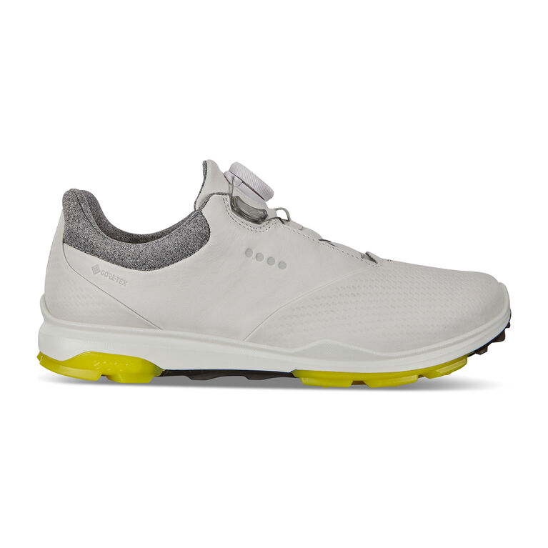 BIOM Hybrid 3 BOA Women's Golf Shoe - White/Yellow