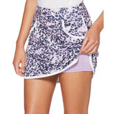 Alternate View 2 of Lilac and Navy Group: 3 Tone Floral Print Skort
