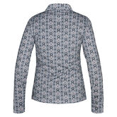 Nivo Sports Zoey Long Sleeve Print Polo