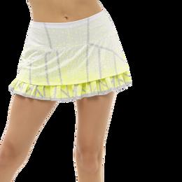 "Take A Pleat Skirt 12"" Ombre Pleated Hem Skort"