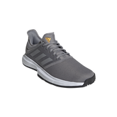 Alternate View 3 of GameCourt Men's Tennis Shoe - Grey/Black