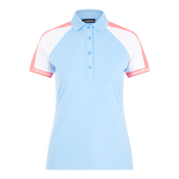 Alternate View 5 of Perinne Short Sleeve Colorblock Polo Shirt