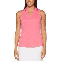 ee0b2106898e7 Airflow Sleeveless Polo Golf Shirt ...