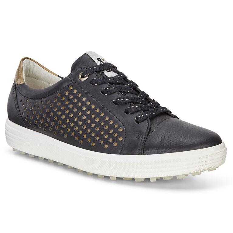 ECCO Casual Hybrid 2 Perf Women's Golf Shoe - Black