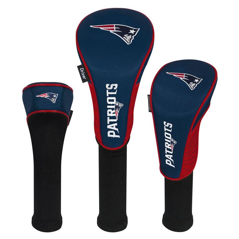 Team Effort New England Patriots Set of 3 Headcovers