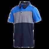 Boys Engineered Stripe Polo Shirt