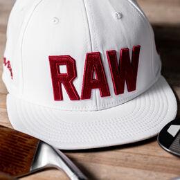RAW TOUR Flatbill Hat - White
