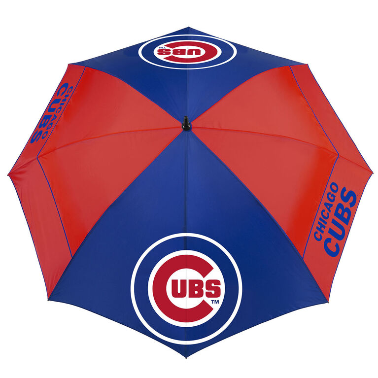 "Team Effort Chicago Cubs 62"" Windsheer Lite Umbrella"