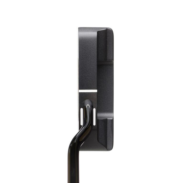 SeeMore Si2W Black Offset Putter w/ Rosemark Grip