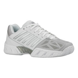 K-Swiss Bigshot Light 3 Women's Tennis Shoe - White/Silver