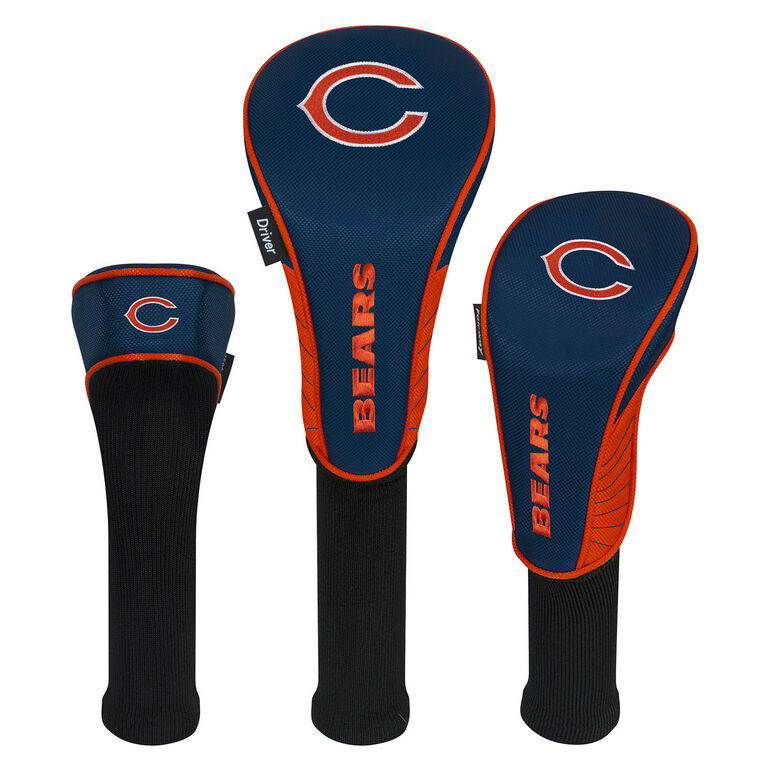 Team Effort Chicago Bears Set of 3 Headcovers