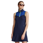 Alternate View 3 of Sleeveless Colorblock Golf Dress