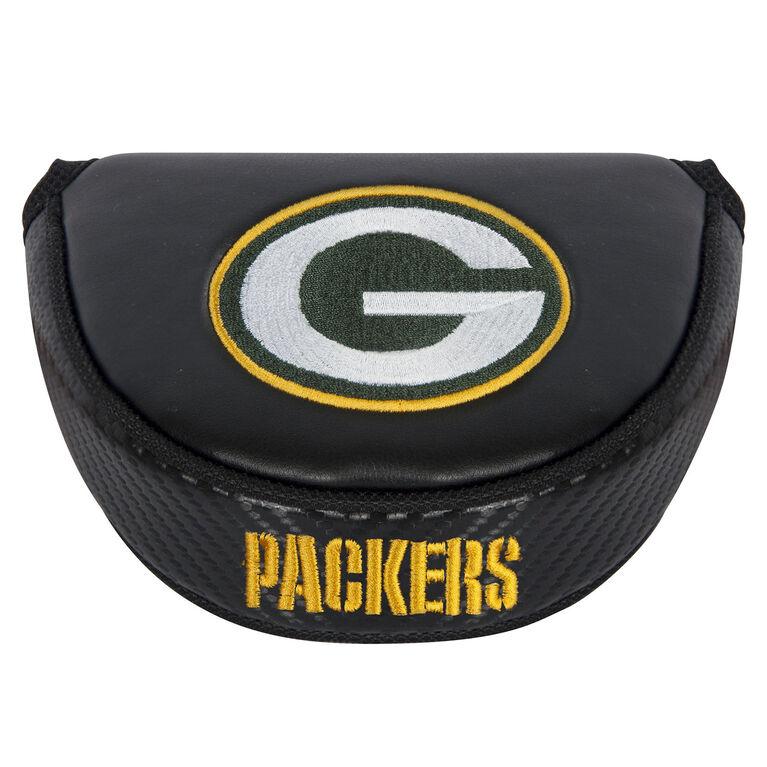 Team Effort Green Bay Packers Black Mallet Putter Cover