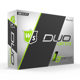 Wilson Staff DUO Soft Optix Green Golf Balls - Personalized