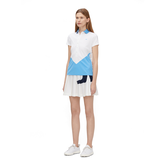 Alternate View 1 of Bea Short Sleeve Colorblock Polo