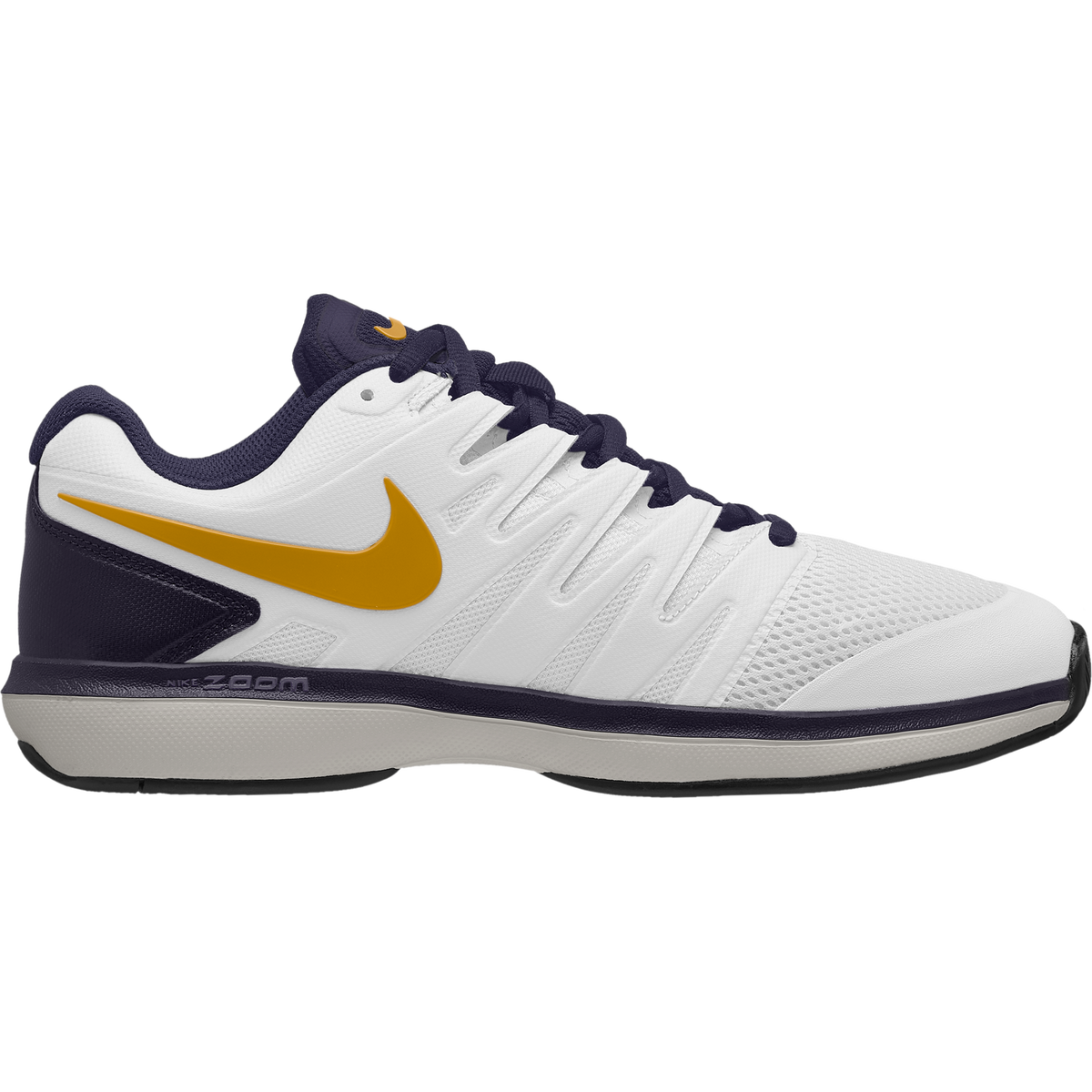 e53a867f23f Nike Air Zoom Prestige Men s Tennis Shoe - White Navy Orange