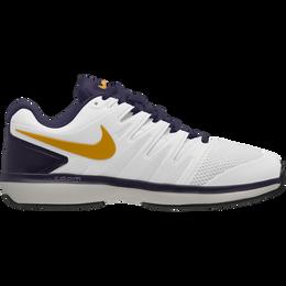 Nike Air Zoom Prestige Men's Tennis Shoe - White/Navy/Orange