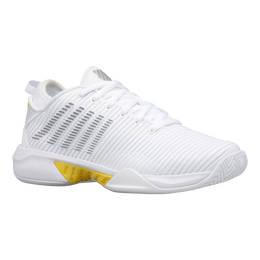 Hypercourt Supreme Women's Tennis Shoe - White/Yellow