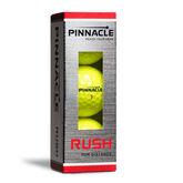 Pinnacle Rush Yellow Golf Balls