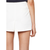 Gabriela Micro Stretch Solid Skort Back Closeup