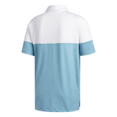 Alternate View 9 of Ultimate365 Heathered Blocked Polo Shirt