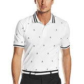 G/FORE Skull & T's Embroidered Polo