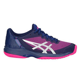 Asics GEL-Court Speed Women's Tennis Shoe - Navy/Pink