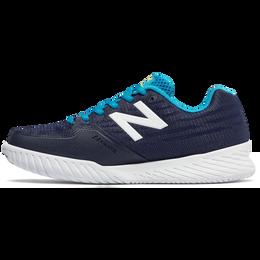 896v2 Women's Tennis Shoe - Blue/White