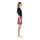 Alternate View 1 of Thea TX Jersey Leopard Skirt