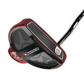 Odyssey O-Works 2-Ball Red Putter w/ SuperStroke Grip