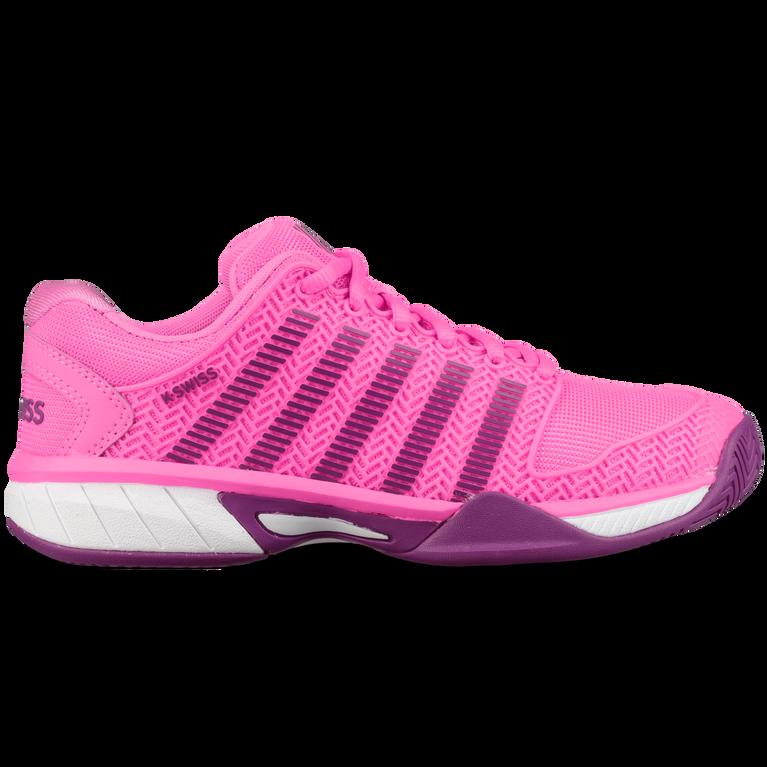 K-Swiss Hypercourt Express Girls Tennis Shoe - Pink
