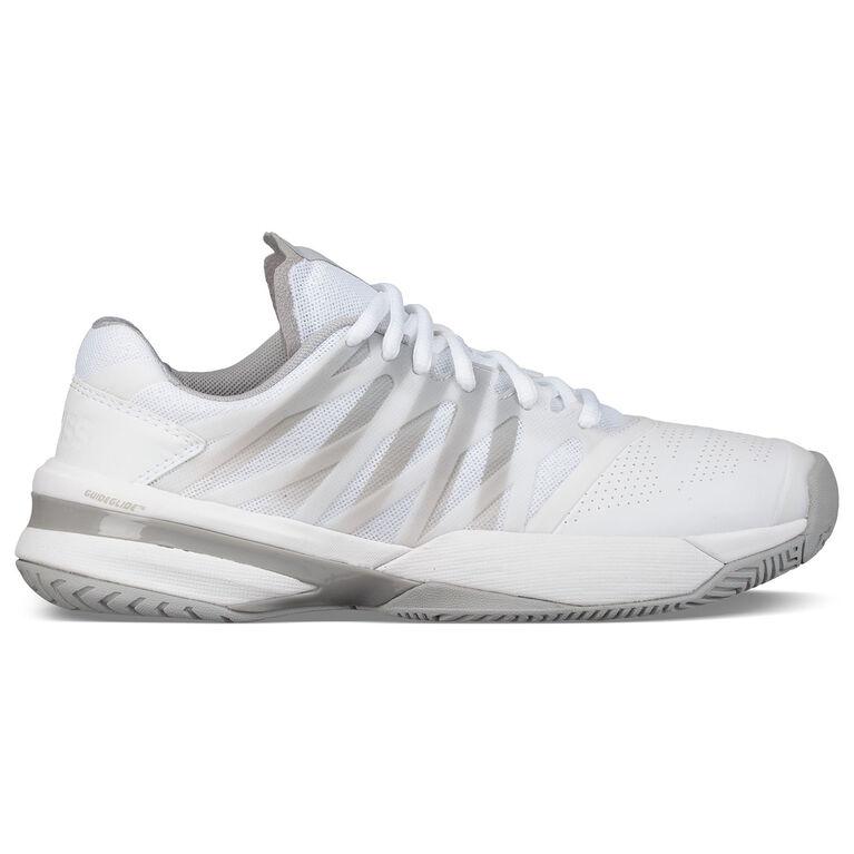 K-Swiss Ultrashot Women's Tennis Shoe - White/Grey