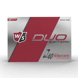 Wilson Staff DUO Soft Spin Golf Balls - Personalized