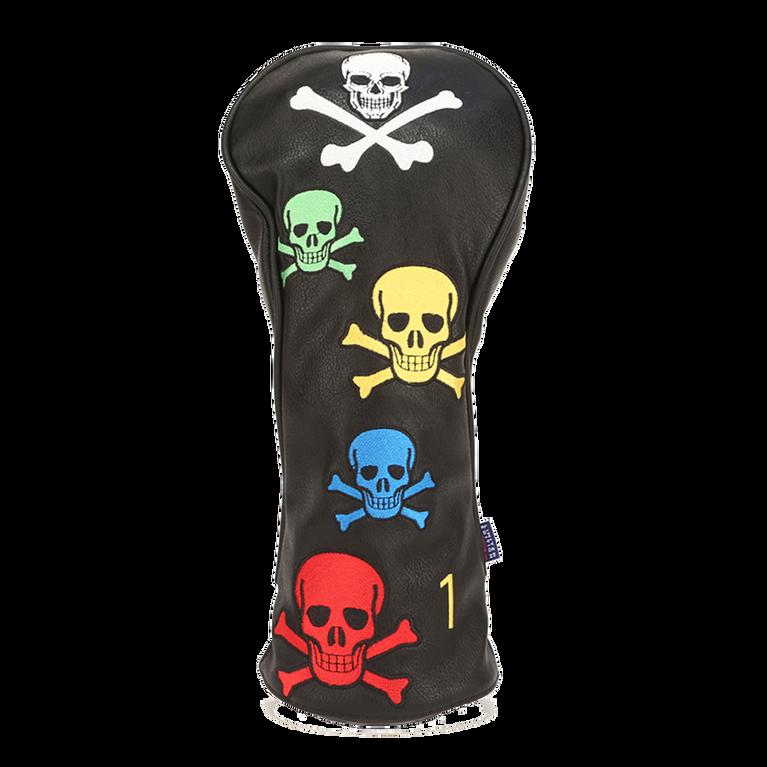 Leather Skull & Crossbones Driver Headcover