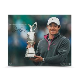 """Rory McIlroy Autographed 143rd Open Champion 16"""" x 20"""""""