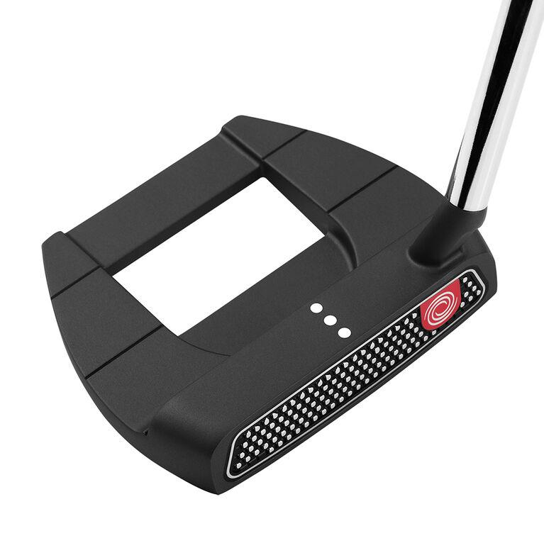 Odyssey O-Works Black Jailbird Mini S Putter w/ Winn Red Grip