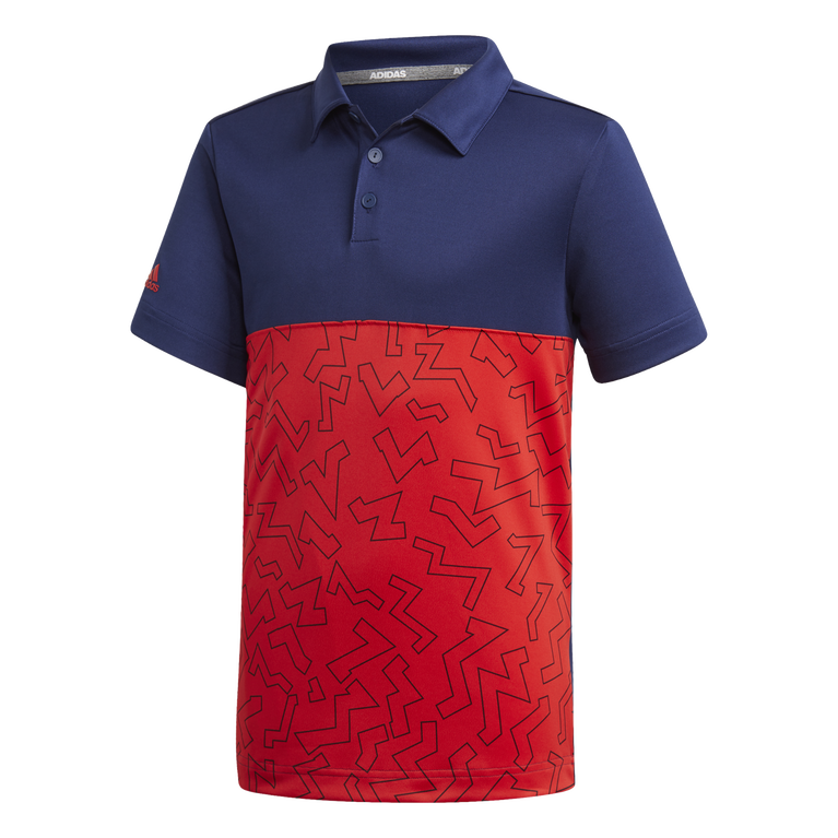 Boys Graphic Block Polo Shirt
