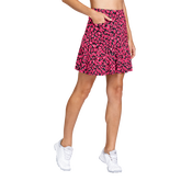 Alternate View 1 of Delicate Blooms Collection: Reagan Floranimal Pleated Skort