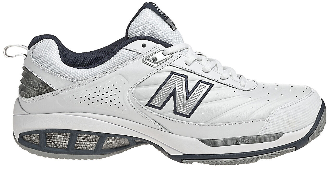 New Balance 806 Men's Tennis Shoe White