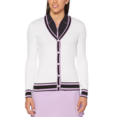 Lilac Collection: Coolmax Long Sleeve Golf Sweater