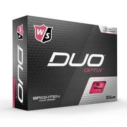 DUO Optix Pink Golf Balls - Personalized