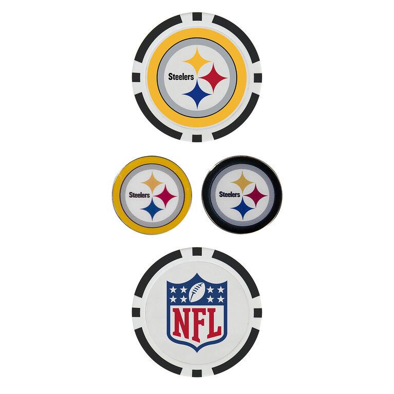 Team Effort Pittsburgh Steelers Ball Marker Set